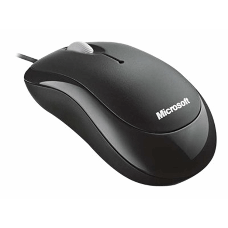 Bsc Optcl Mouse for Bsnss PS2/USB EMEA Hdwr For Bsnss Black