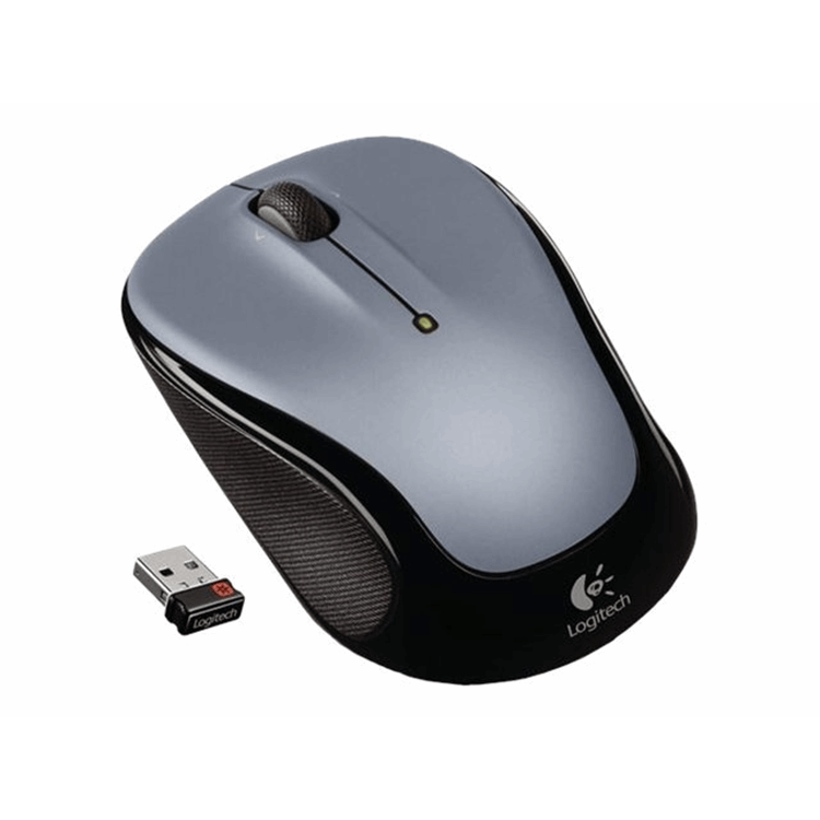 Wireless Mouse M325 Light Silver WER